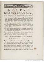 Arrêt 1784